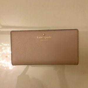 Kate Spade Cream Wallet